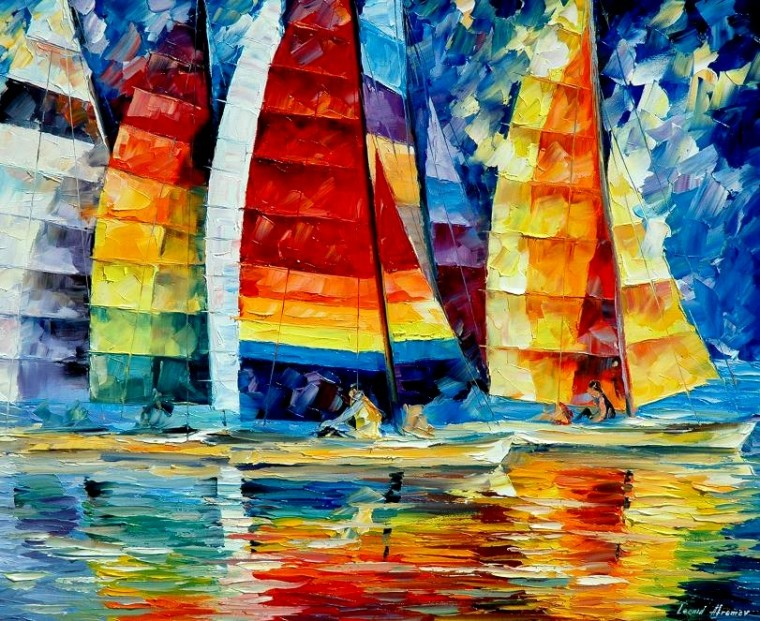 SEA_REGATTA__Leonid_Afremov_by_Leonidafremov