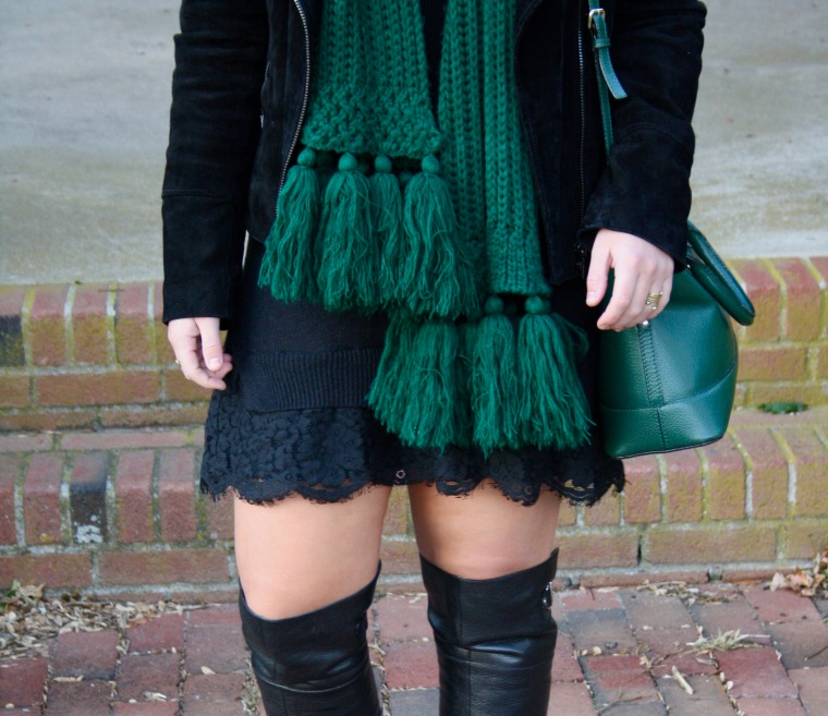Lace Sweater Dress