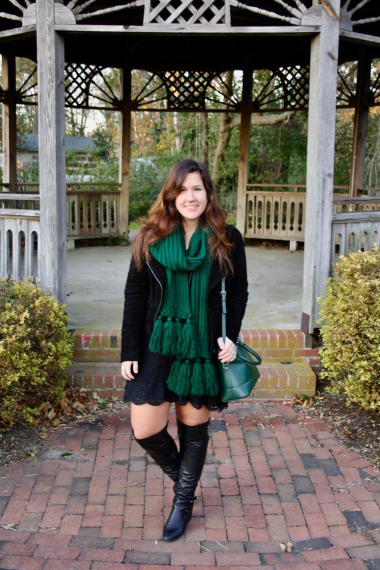 Lace Sweater Dress