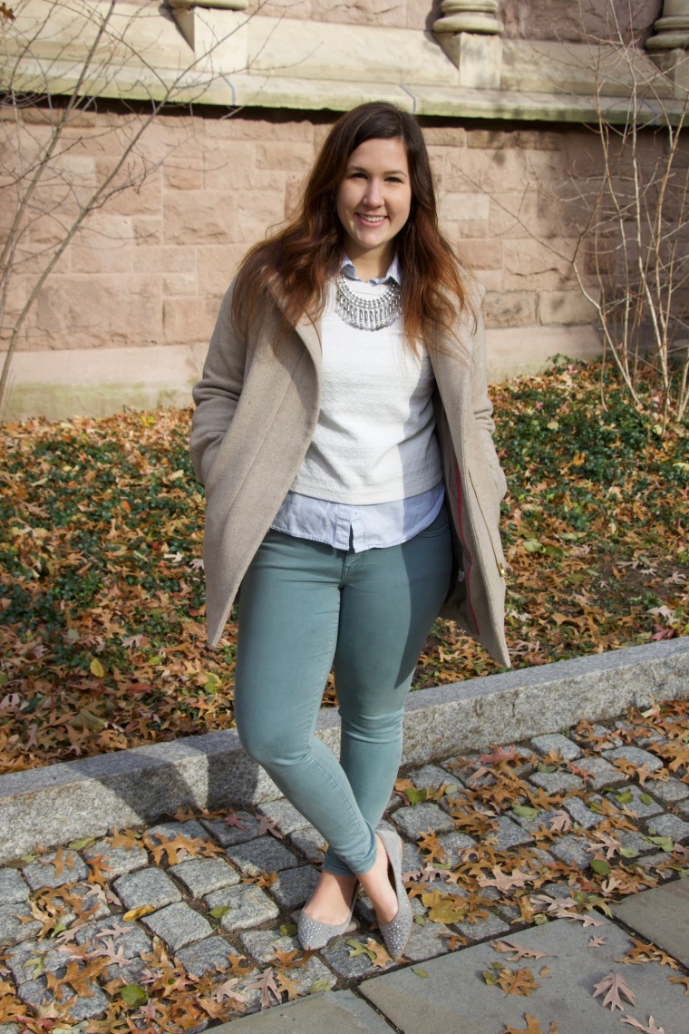 light colors for winter style